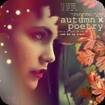 Аватар Красивая девушка и осенние листья (autumn poetry / поэзия осени)