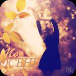 Аватар Девушка мечтательно подняла руки, на фоне осеннего пейзажа (Моя осень)
