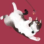 Аватар Рисованный кот, ву Reimena Ashel Yee