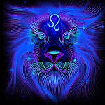 Аватар Синий лев из созвездия Льва