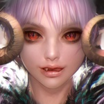 Аватар Вампирша с красными глазами