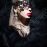 Аватар Девушка в маске