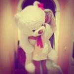 Аватар Девушка и белый медведь