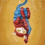 Аватар Кот - Человек Паук запутался в своей паутине