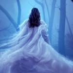 Аватар Девушка в прозрачном платье в лесу