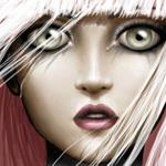 Аватар Лицо плачущей девушки с большими глазами
