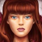 Аватар Девушка с божьими коровками на волосах, by LuzTapia