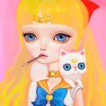 Аватар Аino Мinako / Минако Айно / Sailor Venus / Сейлор Венера и Artemis / Артемис из аниме Красавица-воин Сейлор Мун / Bishoujo Senshi Sailor Moon, by asterozea