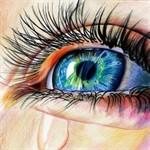 Аватар Глаз девушки со слезой, by Jenny-artascending