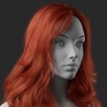 Аватар Девушка с яркими волосами