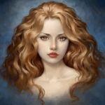 Аватар Девушка с длинными волосами, by Selenada