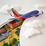 Аватар Самолет в небе