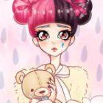 Аватар Девочка с мишкой в руках