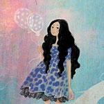 Аватар Девушка с воздушными шариками, by nancy0039