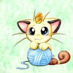Аватар Meowth / Мяут из аниме Pokemon / Pokemon