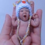Аватар Кукла малыш на ладони