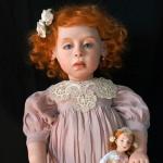 Аватар Рыжеволосая девочка - кукла