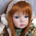Аватар Рыжеволосая девочка кукла