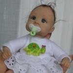 Аватар Кукольный малыш с соской во рту