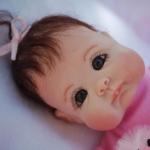 Аватар Кукольный малыш с большими глазами