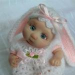 Аватар Кукольный малыш с заячьими ушками