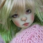 Аватар Кукла с зелеными волосами