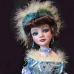 Аватар Девушка кукла в меховом наряде