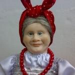 Аватар Кукла бабушка с платком на голове