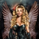 Аватар Блондинка с крыльями