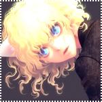 Аватар Неко-девушка с золотыми волосами