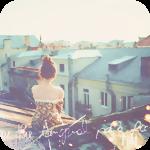 Аватар Девушка сидит на крыше дома, глядя сверху на соседние дома