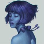 Аватар Ляпис Лазурит / Lapis Lazuli из мультсериала Вселенная Стивена / Steven Universe, ву serafleur