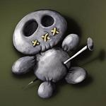 Аватар Кукла вуду проткнутая булавкой