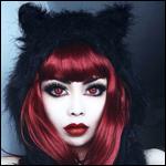 Аватар Wylona Hayashi / Вилона Хаяши в меховом капюшоне с ушками