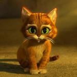 Аватар Маленький кот в сапогах из мультфильма Кот в сапогах / Puss in Boots