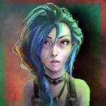Аватар Jinx / Джинкс из игры League of Legends / Лига Легенд