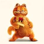 Аватар Самодовольный кот Гарфилд / Garfield с короной