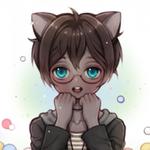 Аватар Девушка с синими глазами и ушками