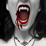 Аватар Вампирша в ожерелье кричит