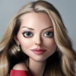 Аватар Девушка со светлыми волосами и ярко выраженными чертами лица