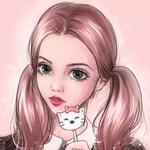 Аватар Девушка с леденцом