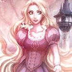 Аватар Рапунцель / Rapunzel главная героиня полнометражного анимационного фильма Рапунцель: Запутанная история