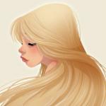 Аватар Девушка со светлыми волосами, by Pernille Ørum