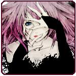 Аватар Девушка с розовыми волосами закрывает лицо руками