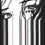 Аватар Рисунок грустной девушки