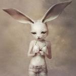 Аватар Девушка с головой зайца