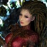 Аватар Косплей на Сару Керриган из игры Starcraft