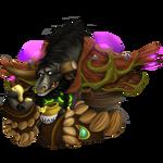 Аватар Мужчина - таурен со сломанным рогом / арт к игре World of Warcraft