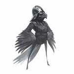Аватар Орел в костюме и стилистике Дарт Вейдера из кино Звездные войны