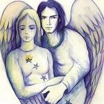 Аватар Парень - ангел рядом с девушкой